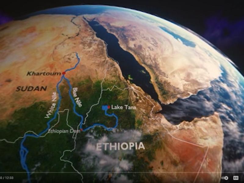 Embassant el Nil en vídeos de 360º