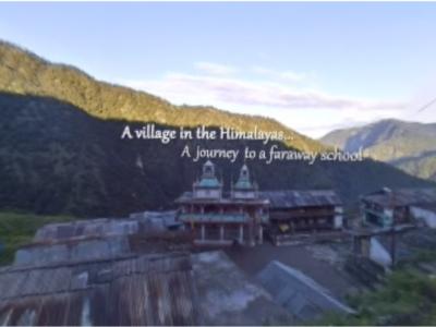 Un viatge a l'escola a través de l'Himalaia en 360º