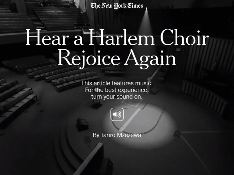 Escolta un cor de Harlem